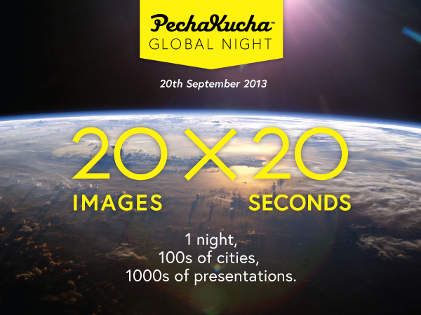 Pechakucha global night 20th september